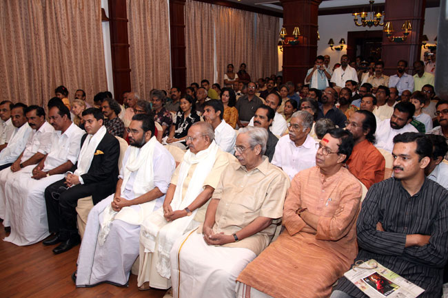Friends of Tibet (Kerala) members and supporters during a private audience with His Holiness the XIV Dalai Lama on September 04, 2010.