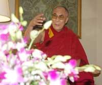 HH the XIV Dalai Lama by Bertie D'souza