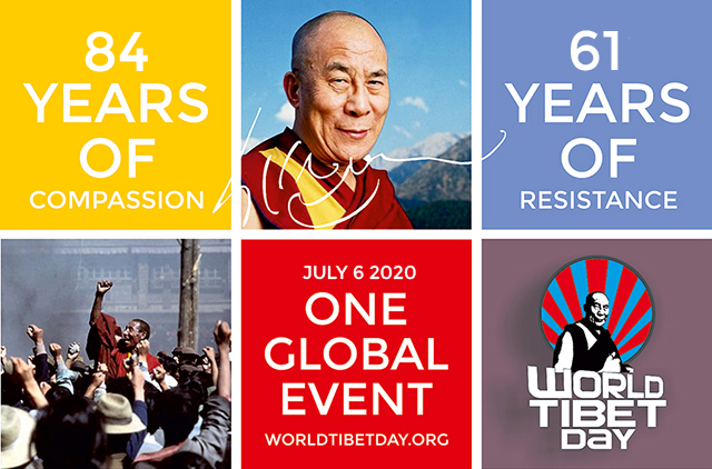 World Tibet Day 2020 Theme from Design & People