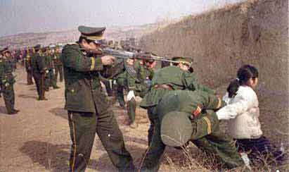 Execution of Tibetans by the Chinese Forces (3)